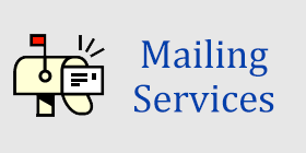 Mailing Services Tag - Mailing Services